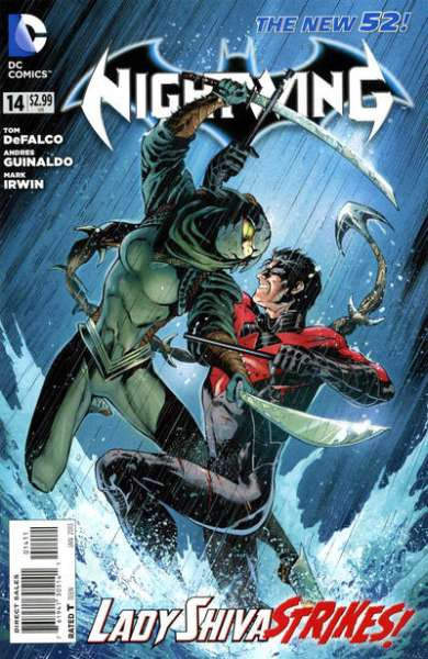Nightwing #14 Comic Books - Covers, Scans, Photos  in Nightwing Comic Books - Covers, Scans, Gallery