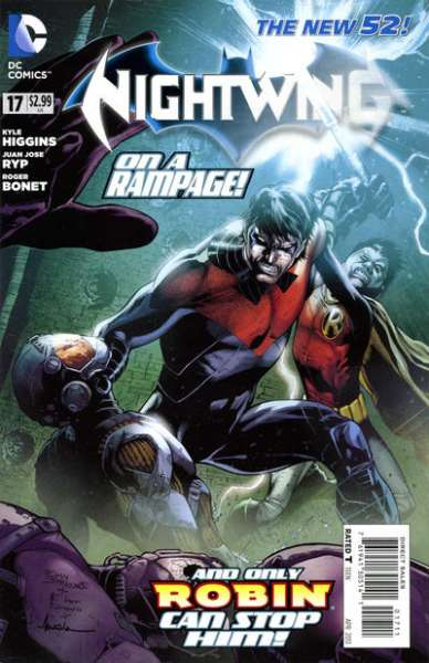Nightwing #17 Comic Books - Covers, Scans, Photos  in Nightwing Comic Books - Covers, Scans, Gallery