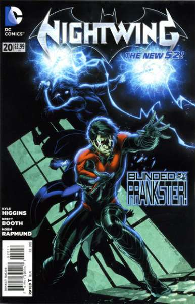 Nightwing #20 Comic Books - Covers, Scans, Photos  in Nightwing Comic Books - Covers, Scans, Gallery