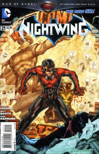 Nightwing #21 comic books for sale