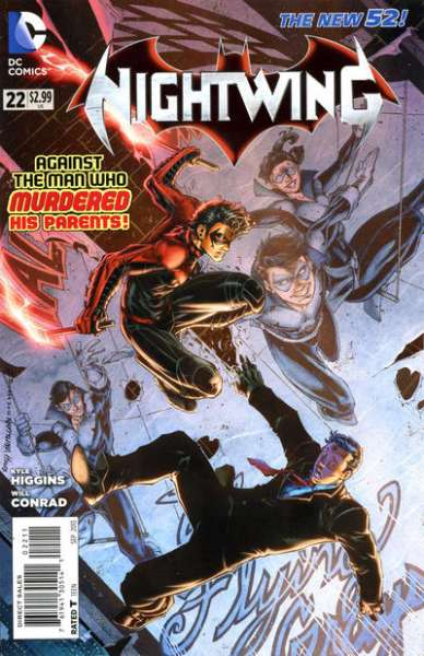 Nightwing #22 comic books for sale