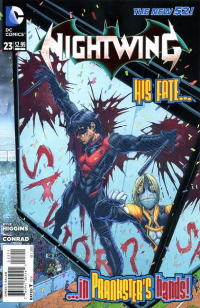 Nightwing #23 comic books - cover scans photos Nightwing #23 comic books - covers, picture gallery