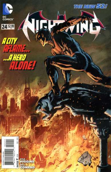 Nightwing #24 comic books - cover scans photos Nightwing #24 comic books - covers, picture gallery