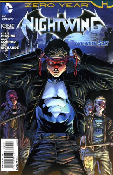 Nightwing #25 comic books for sale