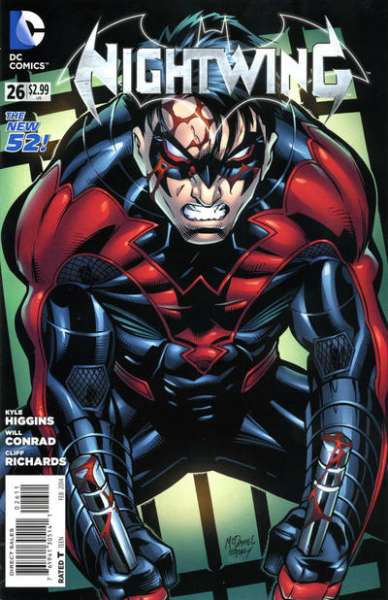 Nightwing #26 Comic Books - Covers, Scans, Photos  in Nightwing Comic Books - Covers, Scans, Gallery