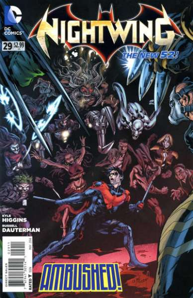 Nightwing #29 Comic Books - Covers, Scans, Photos  in Nightwing Comic Books - Covers, Scans, Gallery
