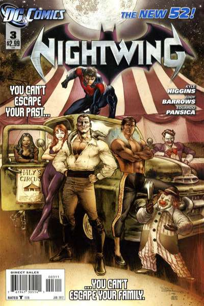 Nightwing #3 Comic Books - Covers, Scans, Photos  in Nightwing Comic Books - Covers, Scans, Gallery
