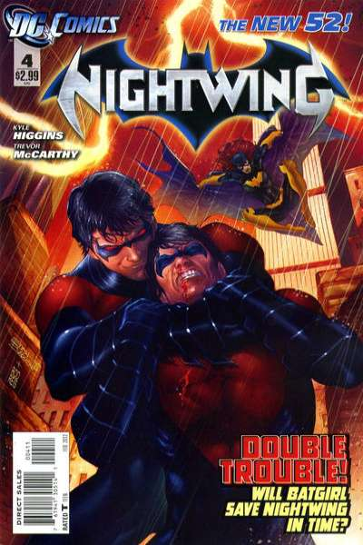 Nightwing #4 Comic Books - Covers, Scans, Photos  in Nightwing Comic Books - Covers, Scans, Gallery