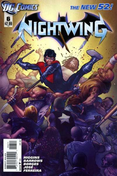 Nightwing #6 Comic Books - Covers, Scans, Photos  in Nightwing Comic Books - Covers, Scans, Gallery