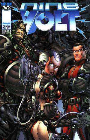 Nine Volt #2 comic books for sale