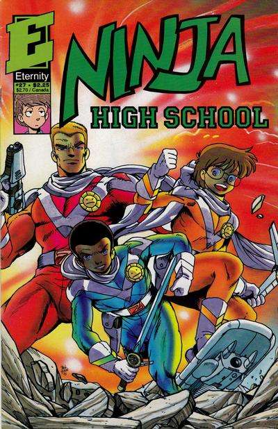 Ninja High School #27 comic books for sale