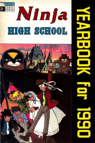 Ninja High School #2 comic books for sale