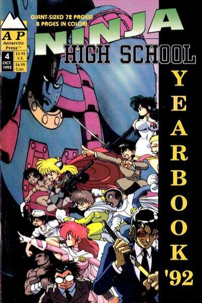 Ninja High School #4 comic books for sale