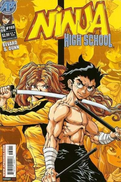 Ninja High School #169 Comic Books - Covers, Scans, Photos  in Ninja High School Comic Books - Covers, Scans, Gallery