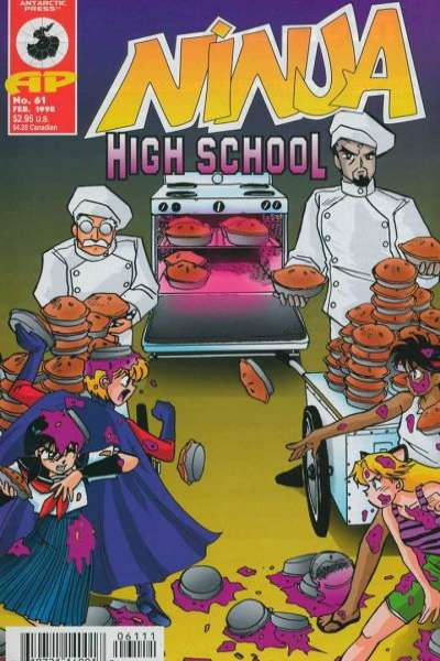 Ninja High School #61 comic books for sale