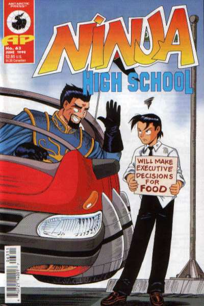 Ninja High School #63 comic books for sale