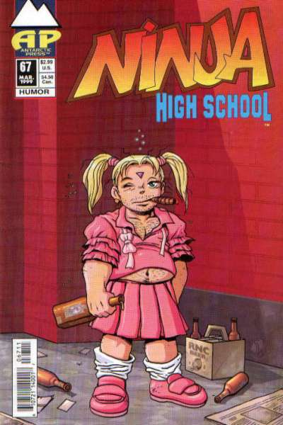 Ninja High School #67 Comic Books - Covers, Scans, Photos  in Ninja High School Comic Books - Covers, Scans, Gallery