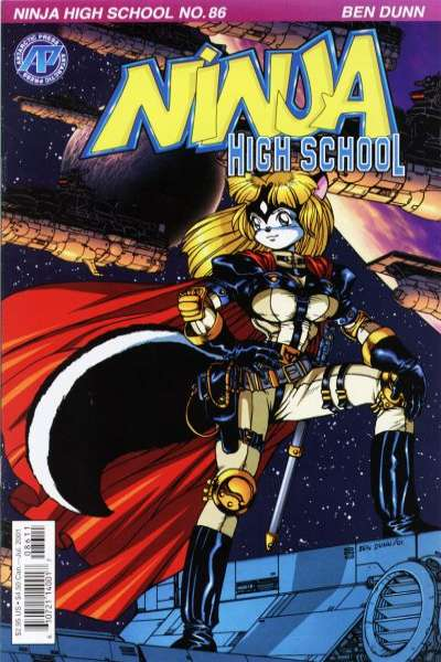 Ninja High School #86 comic books for sale