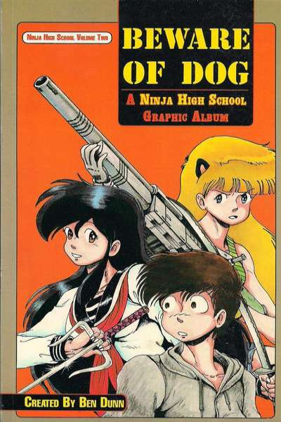 Ninja High School: Beware of Dog #1 comic books - cover scans photos Ninja High School: Beware of Dog #1 comic books - covers, picture gallery