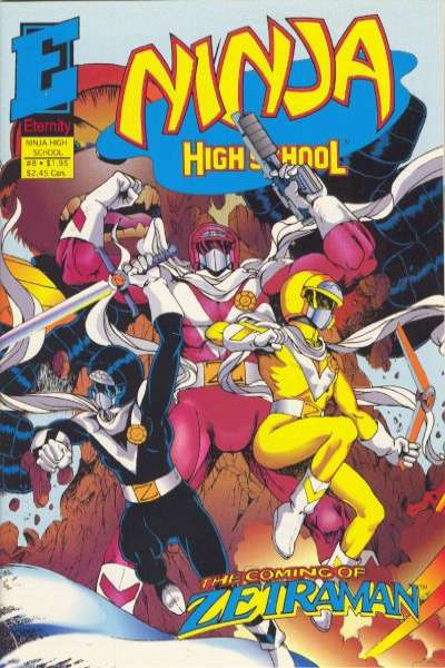 Ninja High School in Color #8 Comic Books - Covers, Scans, Photos  in Ninja High School in Color Comic Books - Covers, Scans, Gallery