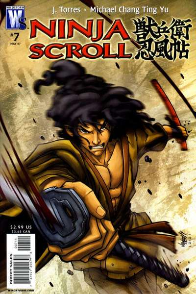 Ninja Scroll #7 Comic Books - Covers, Scans, Photos  in Ninja Scroll Comic Books - Covers, Scans, Gallery
