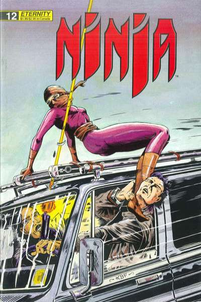 Ninja #12 Comic Books - Covers, Scans, Photos  in Ninja Comic Books - Covers, Scans, Gallery