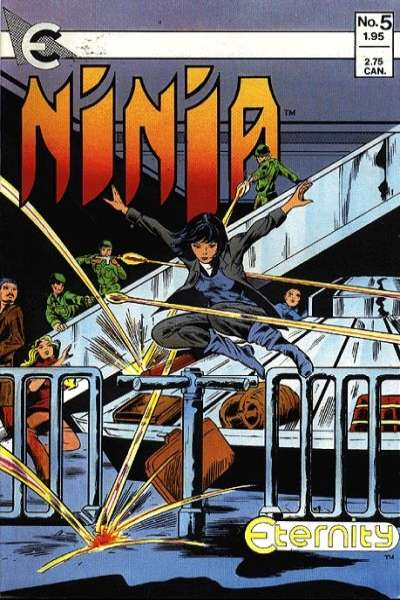 Ninja #5 Comic Books - Covers, Scans, Photos  in Ninja Comic Books - Covers, Scans, Gallery