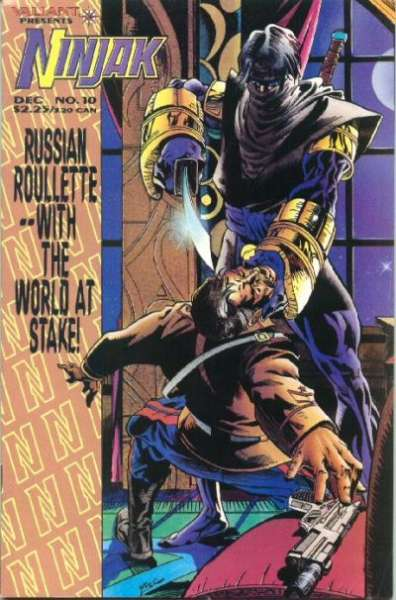 Ninjak #10 comic books for sale