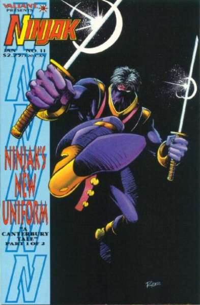 Ninjak #11 comic books for sale