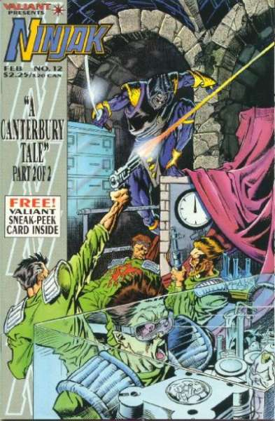 Ninjak #12 comic books for sale