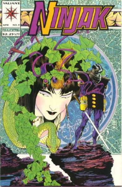 Ninjak #3 comic books for sale