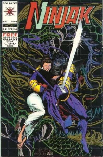 Ninjak #4 comic books for sale