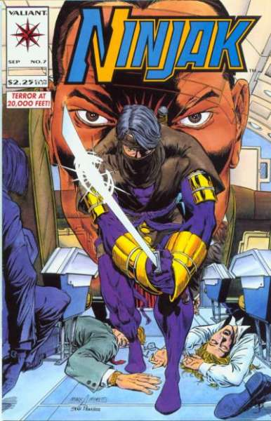 Ninjak #7 comic books for sale