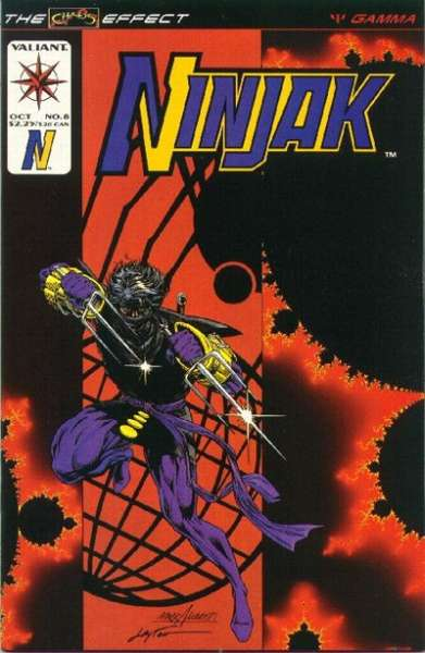 Ninjak #8 comic books for sale