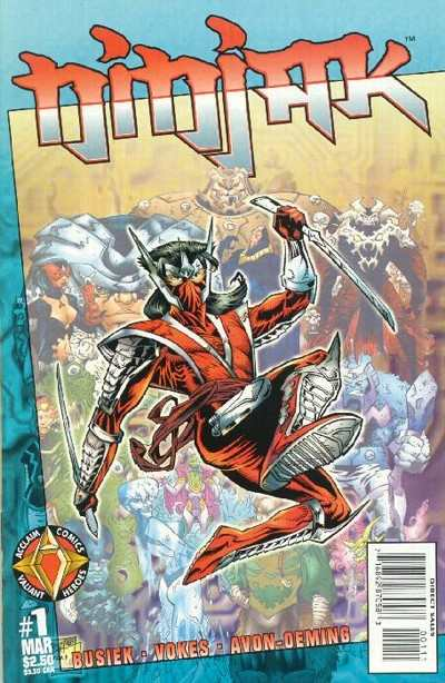 Ninjak comic books