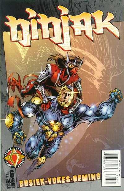 Ninjak #6 comic books for sale