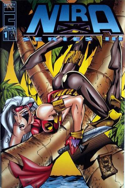 Nira X: Cyberangel Series 3 comic books