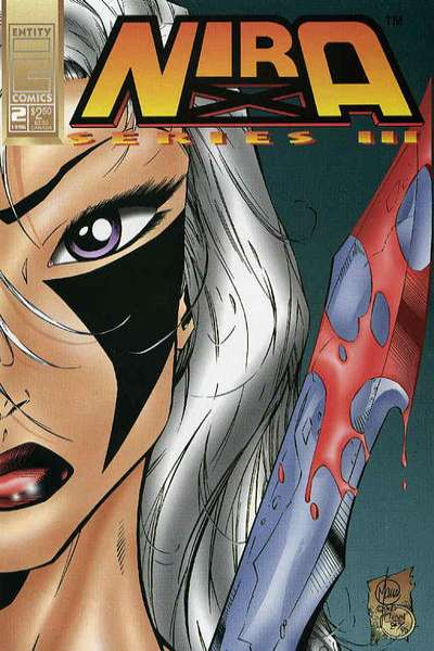 Nira X: Cyberangel Series 3 #2 comic books - cover scans photos Nira X: Cyberangel Series 3 #2 comic books - covers, picture gallery