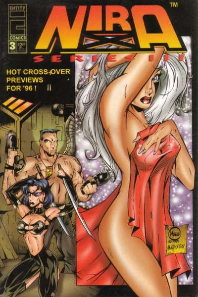 Nira X: Cyberangel Series 3 #3 comic books - cover scans photos Nira X: Cyberangel Series 3 #3 comic books - covers, picture gallery