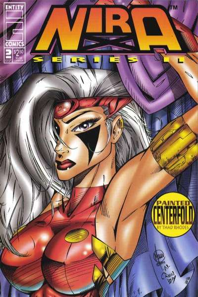 Nira X: Heatwave #2 comic books - cover scans photos Nira X: Heatwave #2 comic books - covers, picture gallery