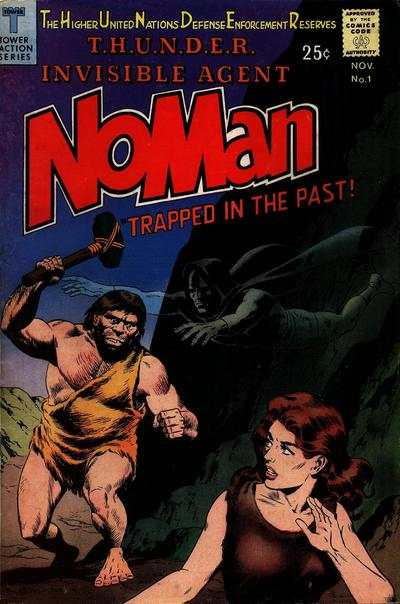 NoMan comic books
