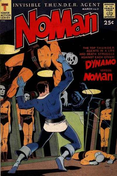 NoMan #2 Comic Books - Covers, Scans, Photos  in NoMan Comic Books - Covers, Scans, Gallery