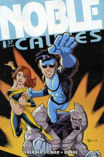 Noble Causes #37 Comic Books - Covers, Scans, Photos  in Noble Causes Comic Books - Covers, Scans, Gallery