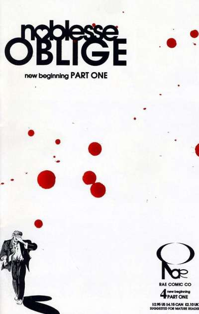 Noblesse Oblige #4 comic books for sale