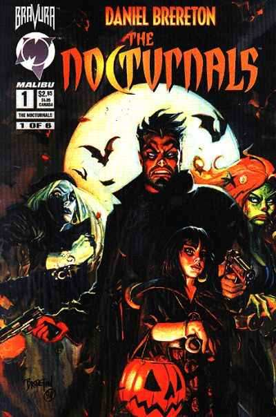 Nocturnals #1 comic books - cover scans photos Nocturnals #1 comic books - covers, picture gallery