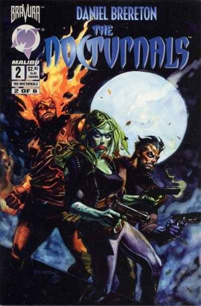 Nocturnals #2 comic books - cover scans photos Nocturnals #2 comic books - covers, picture gallery
