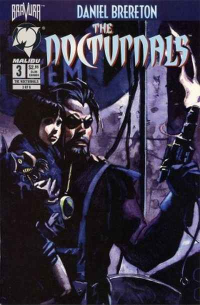 Nocturnals #3 comic books - cover scans photos Nocturnals #3 comic books - covers, picture gallery