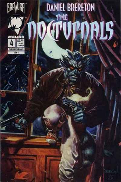 Nocturnals #4 comic books - cover scans photos Nocturnals #4 comic books - covers, picture gallery
