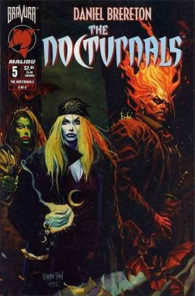 Nocturnals #5 comic books - cover scans photos Nocturnals #5 comic books - covers, picture gallery