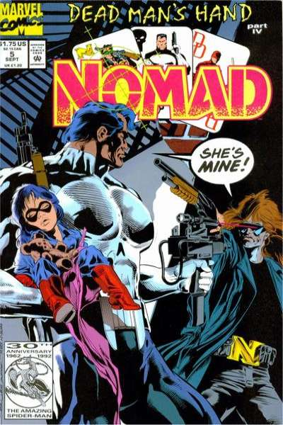 Nomad #5 comic books for sale
